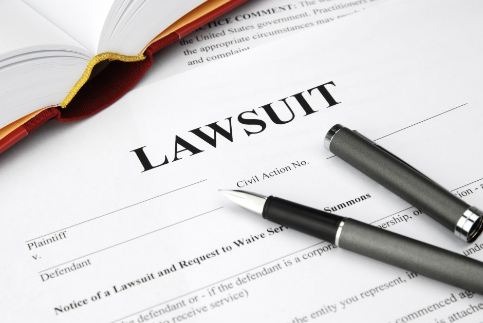 Are you being sued?